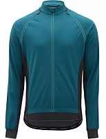 cheap -Men's Cycling Jacket Winter Corduroy Bike Top Windproof Quick Dry Moisture Wicking Sports Patchwork Red / Green / Dark Navy Clothing Apparel Bike Wear / Long Sleeve / Athleisure