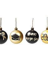 cheap -Golden black Christmas ball decoration props electroplating ball decoration