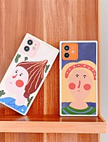 cheap -Phone Case For Apple Back Cover iPhone 12 Pro Max 11 X XR XS Max iphone 7Plus / 8Plus Shockproof Dustproof Cartoon PC