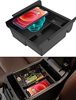 cheap -Car Qi Wireless Upgrades Wireless Charger/Center Console Organizer Tray for Toyota 4runner 2010-2021 Wireless Phone Charging Pad for Toyota 5th Gen 4runner SR5 TRD Truck Accessories