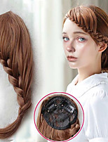 cheap -Synthetic Wig Natural Straight Side Part Wig Long A1 A2 A3 A4 A5 Synthetic Hair Women's Cosplay Soft Party Black Brown