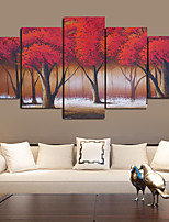 cheap -Wall Art Canvas Prints Landscape Home Decoration Decor Rolled Canvas No Frame Unframed Unstretched