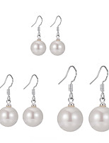cheap -Women's Earrings Classic Joy Simple Natural Classic Cute Shell Earrings Jewelry Red / Champagne / White For Gift Daily Work 6pcs