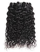 cheap -Ishow 3 Bundles Human Hair Weaves 100% Human Hair Peru Hair 3 Pieces Of Water Human Hair 8-28 Inch Hair Extensions