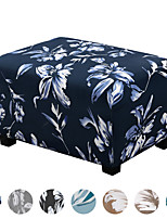 cheap -Ottoman Slipcovers Rectangle Super Stretch Footrest Sofa Slipcovers Footstool Protector Covers Feature Soft Thick Bouncy Modern Style with Elastic Bottom