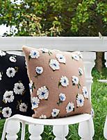 cheap -PillowCase French Style Retro Artificial Wool Blended Three-dimensional Jacquard PillowCase Cushion Cover Modern Sample Room Cushion Cover Living Room Bedroom Sofa Cushion Cover