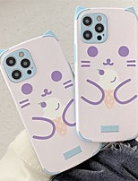 cheap -Phone Case For Apple Back Cover iPhone 12 Pro Max 11 SE 2020 X XR XS Max 8 7 Shockproof Dustproof Cartoon PC