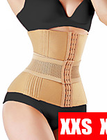 cheap -Dress Slimming Waist Trainer Shapewear Modeling Belt Shapewear Waist Cincher Body Shaper Fat Compression Strap Girdle Company Corset