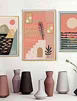 cheap -Wall Art Canvas Prints Painting Artwork Picture Landscape Pink Home Decoration Decor Rolled Canvas No Frame Unframed Unstretched