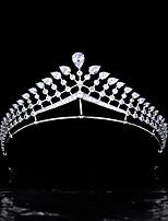 cheap -Hair Accessories High-end Ladies Fashion Crowns Brides Zircon Crowns Wedding Crowns Wedding Accessories