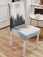 cheap -Stretch Kitchen Chair Cover Slipcover for Dinning Party Plain Four Seasons Universal Super Soft Fabric Retro Hot Sale