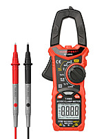 cheap -Habotest HT206D AC DC 600V 600A Ohm Hz Temperature Digital Clamp Meter multimeter pinza amperimetrica
