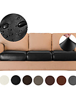 cheap -1 Pc Stretch Cushion Covers Leather Couch Cushion Covers Waterproof Seat Covers RV Chair Loveseat Sofa Furniture Protector PU Slipcovers for Settee Seater Replacement