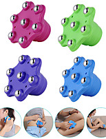 cheap -1 Piece Roller 7 Balls Body Massager Muscle Pain Relief Relax Anti Cellulite Massager For Neck Back Shoulder Buttocks Health Care