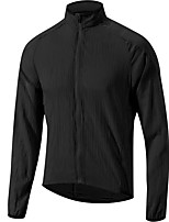cheap -Men's Cycling Jacket Bike Top Quick Dry Moisture Wicking Sports Solid Color Orange / White / Black Clothing Apparel Bike Wear / Long Sleeve / Athleisure