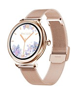 cheap -NY13  Smartwatch Fitness Running Watch Bluetooth Pedometer Sleep Tracker Heart Rate Monitor Call Reminder Camera Control Step Tracker IP68 25mm Watch Case for Android iOS Women