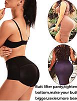cheap -Women Control Panties with Pad Butt Lifter Hip Enhancer Mesh Breathable Underwear Push Up Big Ass Fake Butt Body Shaper
