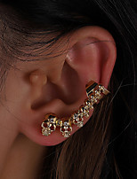 cheap -Women's Ear Cuff Geometrical Star Unique Design Vintage Modern Cute Sweet Earrings Jewelry Gold For Party Gift Daily Prom Club 1pc