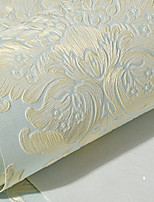 cheap -Wallpaper Wall Covering Sticker Film Peel And Stick Embossed Stripe 3d Three-dimensional Stripes Non Woven Home Deco 53*100CM