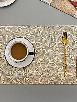 cheap -Nordic Style Hollow Placemat Table Mat Tea Coaster Pvc Heat Insulation Pad Home Western Restaurant Placemat