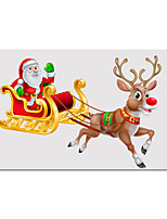 cheap -Wall Art Canvas Prints Painting Artwork Picture Santa Claus Bring Us Presents Home Decoration Decor Rolled Canvas No Frame Unframed Unstretched