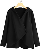 cheap -Women's Jacket Street Daily Fall Winter Regular Coat Regular Fit Thermal Warm Casual Streetwear Jacket Long Sleeve Solid Color Quilted Army Green Black Navy Blue