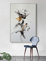 cheap -Wall Art Canvas Prints Painting Artwork Picture Abstract Ink Style Black White Home Decoration Dcor Rolled Canvas No Frame Unframed Unstretched