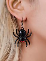 cheap -Women's Drop Earrings Earrings Classic Spiders Gothic Fashion European Earrings Jewelry Black For Halloween 1 Pair