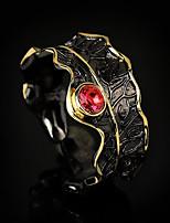 cheap -Ring AAA Cubic Zirconia Retro Gold / Black Brass Floral Theme Artistic Unique Design Vintage 1pc / Women's