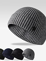 cheap -Men's Ski Skull Cap Thermal Warm Windproof Hat Winter Snowboard for Skiing