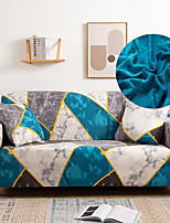 cheap -Sofa Cover Geometric Reactive Print / Printed Polyester Slipcovers