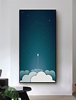 cheap -Wall Art Canvas Prints Painting Artwork Picture Landscape Sky Home Decoration Dcor Rolled Canvas No Frame Unframed Unstretched