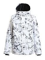 cheap -GSOU SNOW Men's Ski Jacket Snow Jacket Thermal Warm Waterproof Windproof Breathable Hooded Winter Winter Jacket for Snowboarding Ski Mountain