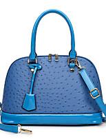 cheap -Women's Bags PU Leather Top Handle Bag Zipper Date Office & Career Handbags Blue Green White Black