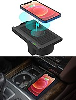 cheap -Wireless Charger for BMW X5 2014-2018 X6 2015-2019 Wireless Charging Pad for BMW F15 F16 Accessories 2018 2017 2016 2015 2014