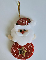 cheap -Christmas Tree Old Man Snowman Doll Pendant Family Party Atmosphere Dress Up Props Supplies