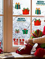 cheap -Christmas Children's Room Decoration Sticker Waterproof Cartoon Christmas Gift Self-adhesive DIY Wall Sticker