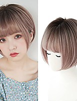 cheap -short bob hair wigs for woman nature full airy bang ombre wig for daily party synthetic cosplay wig 11inch hf618-rf
