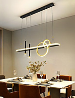 cheap -LED Pendant Light 108 cm Circle Design Single Design Chandelier Metal Modern Style Stylish Painted Finishes LED Modern 220-240V