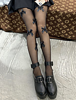 cheap -Fashion Cute Women's Socks Transparent Pantyhose Sheers Halloween Thin 10D Wedding White 1 Pair