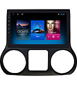 cheap -For Jeep Wrangler 2015-2016 Android 10.0 Autoradio Car Navigation Stereo Multimedia Car Player GPS Radio 10 inch IPS Touch Screen 1 2 3G Ram 16 32G ROM Support iOS Carplay WIFI Bluetooth 4G
