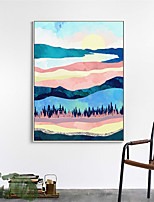 cheap -Wall Art Canvas Prints Painting Artwork Picture Landscape Mount Abstract Home Decoration Dcor Rolled Canvas No Frame Unframed Unstretched