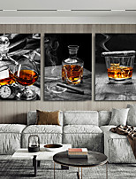 cheap -Wall Art Canvas Prints Painting Artwork Picture  Cups Home Decoration Decor Rolled Canvas No Frame Unframed Unstretched