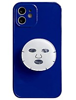 cheap -Phone Case For Apple Back Cover iPhone 13 iPhone 13 Pro Max iPhone 13 Pro iPhone 12 iPhone 12 Pro Max iPhone XR iPhone 12 Pro iphone X / XS iPhone SE 2020 Shockproof Dustproof with Stand Solid Colored