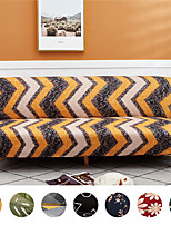 cheap -Stretch Futon Cover ,Armless Sofa Cover Folding Sofa Bed Cover Printed Futon Slipcover Furniture Protector Without Armrests
