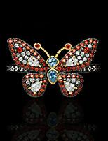 cheap -Women Ring AAA Cubic Zirconia Fancy Orange Brass Butterfly Artistic Luxury Gothic 1pc / Women's