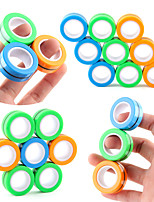 cheap -Finger Toy Magnetic Ring 1 pcs Portable Gift Stress and Anxiety Relief DIY For Kid's Adults' Boys and Girls Home Wor