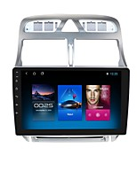cheap -For Peugeot 307 2002-2005 Android 10.0 Autoradio Car Navigation Stereo Multimedia Car Player GPS Radio 9 inch IPS Touch Screen 1 2 3G Ram 16 32G ROM Support iOS Carplay WIFI Bluetooth 4G