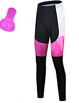 cheap -21Grams Women's Cycling Tights Spandex Bike Tights Quick Dry Moisture Wicking Sports Pink Mountain Bike MTB Road Bike Cycling Clothing Apparel Bike Wear / Stretchy / Athleisure