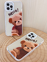 cheap -Phone Case For Apple Back Cover iPhone 12 Pro Max 11 Pro Max iphone 7Plus / 8Plus Shockproof Dustproof Cartoon TPU